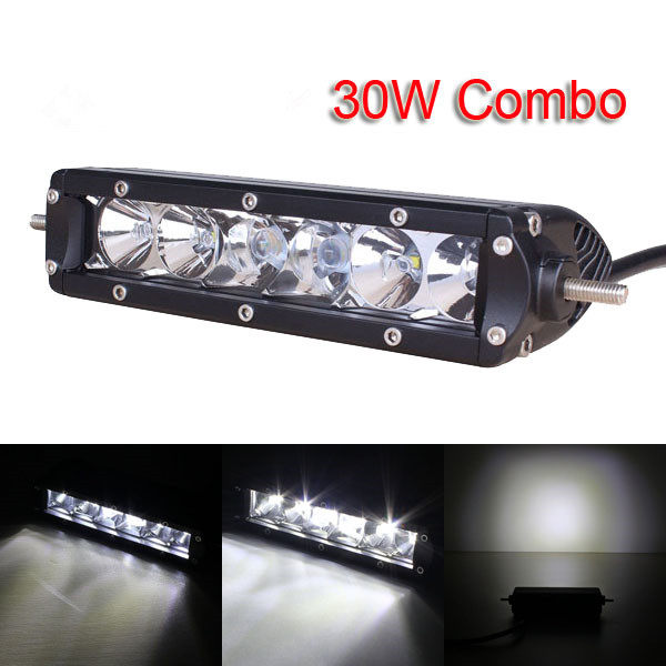 Online shop 7inch 30w with cree led chips led light bar combo image aloadofball Images