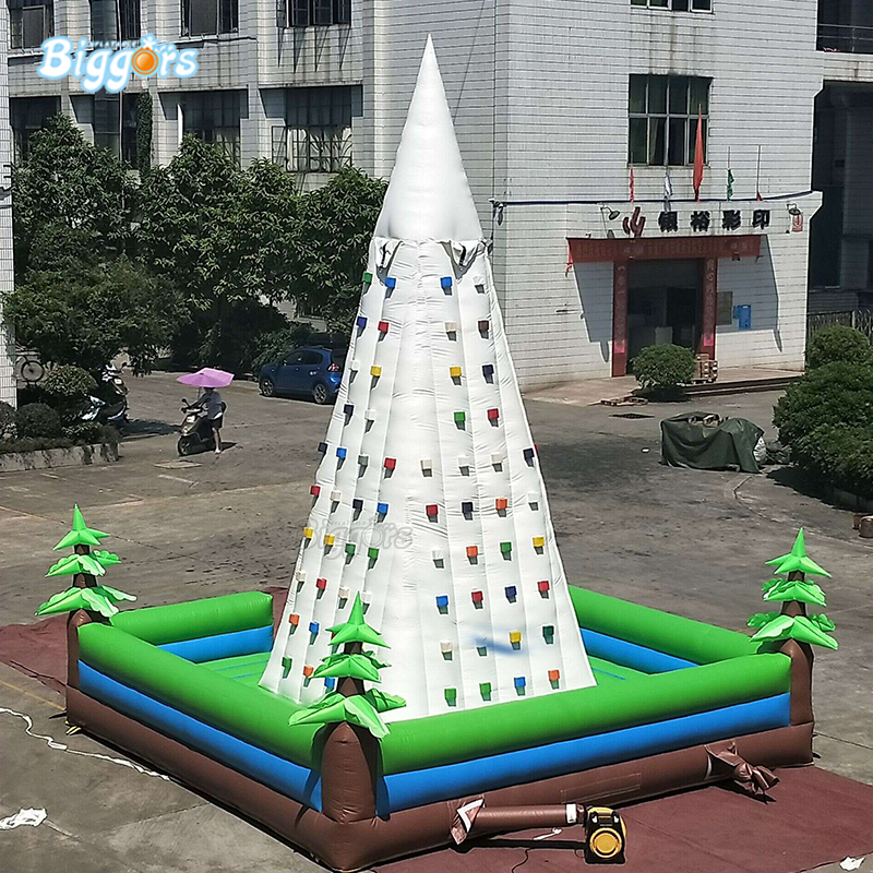 Inflatable Climbing Wall Inflatable Sport Game Outdoor Inflatable Rock Climbing Wall For Sale inflatable biggors high quality inflatable climbing town kids toy climbing wall games for rental