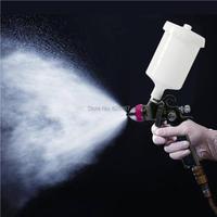 LEMATEC Spray Gun HVLP Manual Paint Gravity Type 1.4 mm Nozzle Paint Gun Automotive Finish Power Professional Tools