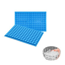 Silicone Ice Cube Tray Mold For Chocolate Dessert Candy Pudding Jelly Mould Party Bar Whisky Tools Kitchen Baking Pan 15 cavity silicone drink ice cube pudding jelly cake chocolate mold mould tray set of 2 460001