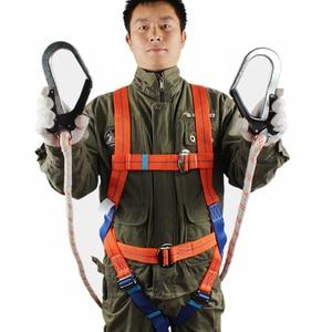 Image 3 - Ремень безопасности пятиточечный с двойным крючком, система безопасности, оборудование для защиты от падения, высокая производительность