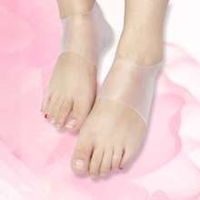 1 Pair of Silicone Arch Support Heel Protection Sleeves With Heel Feet