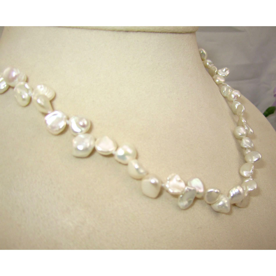 white irregularly artbeads freshwater shaped pearl potato p strand pearls
