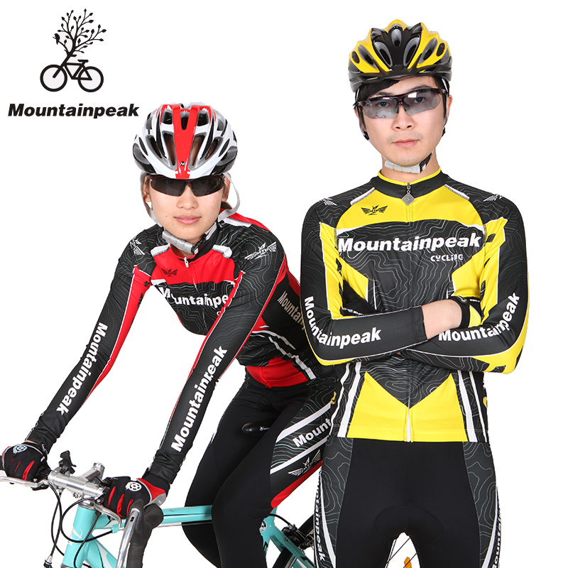 New Spring and Summer Mountainpeak Long Sleeve Cycling Suits Cycling Shorts Cycling Wear Pants Cycling Equipment mountainpeak new spring