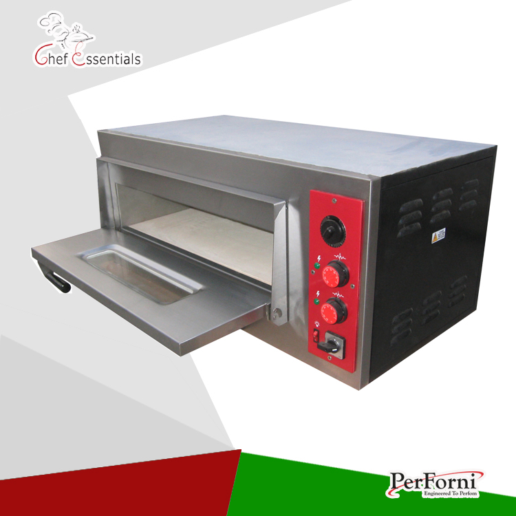 Factory Direct sale Electric Pizza Oven/Pizza Maker/1 layer/the highest temperature:450 degrees Celsius pfml nb400 stainless steel high temperature deck baking pizza oven machine for pizza shop