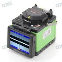 Komshine FX35 Fiber Optical Fusion Splicer For FTTx FTTH With Optic Fiber Cleaver Cooling Tray And