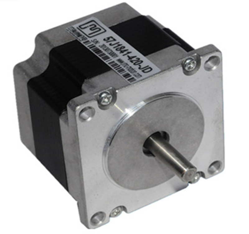 Nema 23 2phase 0.7N.m 99ozf.in stepper Motor 57mm frame 6.35mm shaft 57J1841-420 JMC nema 23 3phase 1 5n m 212ozf in 5 8a stepper motor 57mm frame 8mm shaft 57j1276 658 jmc
