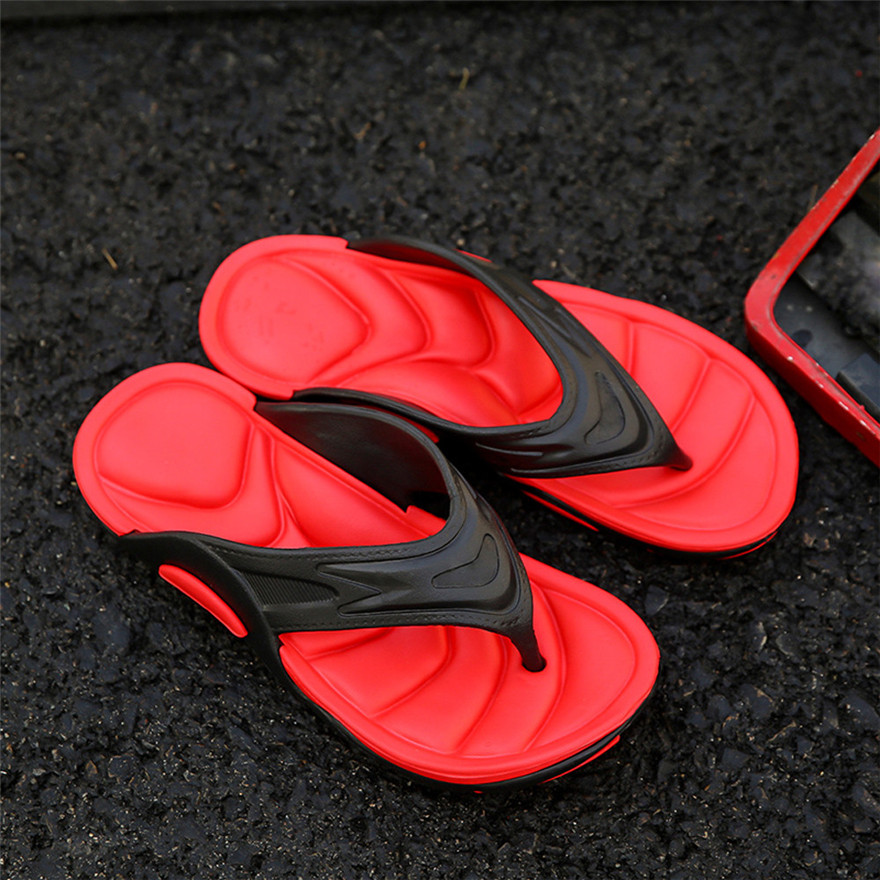 Sagace New Arrival Summer Flip Flops High Quality Beach Sandals Non-slide Me Slippers Zapatos Hombre Casual Shoes MAY 22