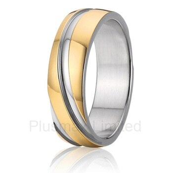9c348bb5528f Anel masculino puro barato titanium joyería única 6mm propuesta promesa boda  anillos parejas