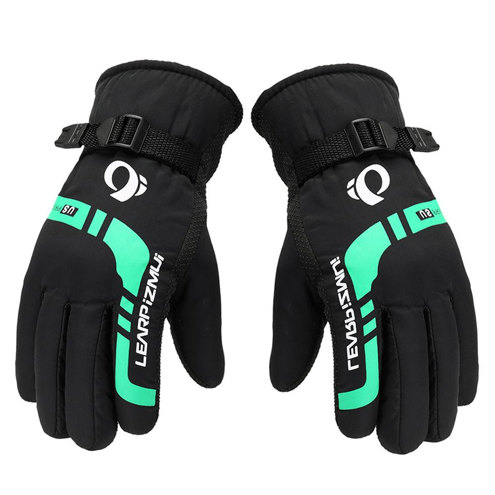Thermal Gloves For Men Winter Outdoor Motorcycle Riding Equipment Windproof Thickening Ski Gloves