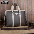 VKTERY Men 's shoulder bag cross section square handbag trend business bags vertical section briefcase wholesale men' s bags