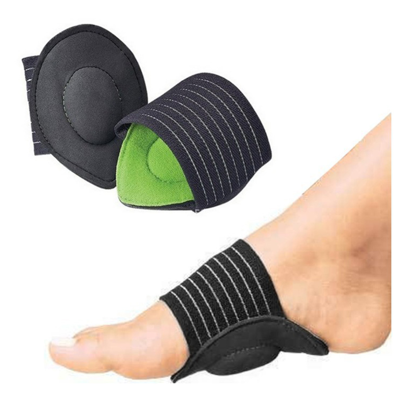 1 Pair Foot Heel Pain Relief Plantar Fasciitis Insole Pads