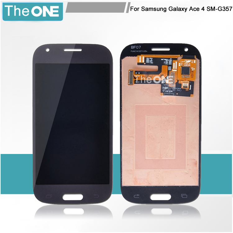 Full New LCD Display Touch Screen Digitizer assembly replacement for Samsung Galaxy Ace 4 G357 G357FZ free shipping 100% brand new lcd digitizer touch screen display assembly for samsung galaxy note 4 n910 n910a n910v n910p n910t black or white