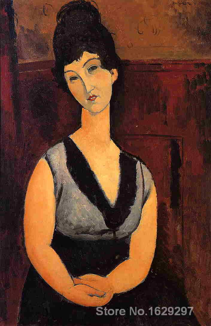 The Beautiful Confectioner Amedeo Modigliani painting for bedroom decoration High quality