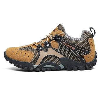 c6d2110a LeFoche Для мужчин весна уличные, из натуральной кожи дышащая сетчатая  Обувь На Шнуровке Нескользящая модная обувь