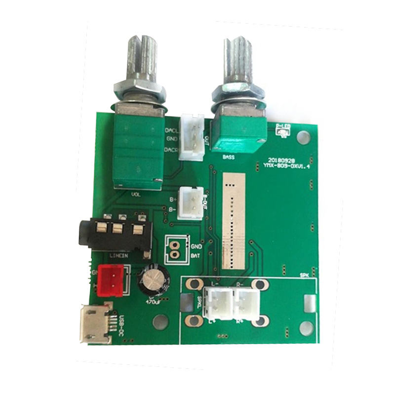 Bluetooth 5.0 5V Digital Audio Amplifier Board 20W 2.1 Channel Subwoofer Amplifier Board 3D Surround Sound Class D Amplificador image