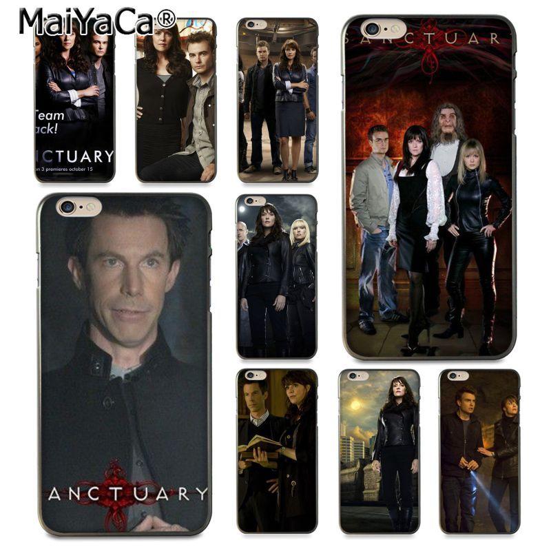 Maiyaca святилище ТВ show Хит продаж дизайн кожи тонкий ПК cell чехол для iPhone 8 7 6 6 S Plus x 10 5 5S SE 5C Coque В виде ракушки