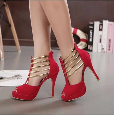 Aliexpress.com : Buy Women High Heels 2015 Classic Roman Style ...
