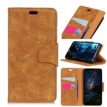 Retro Leather phone case For iPhone XS MAX X 7 8Plus 3 in 1 Kickstand Card pocket  Premium PU Case Flip Phone Cover 6splus
