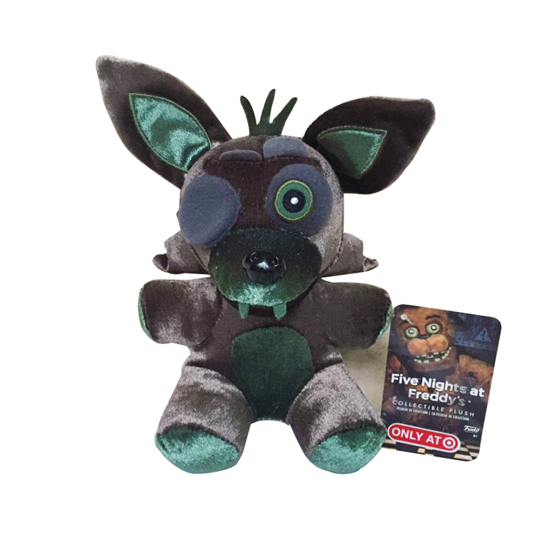 New Arrival 18cm FNAF Five Nights At Freddy's 4 Nightmare Foxy Fox Stuffed Plush Toys Soft Toy Doll Gifts For Children Kids