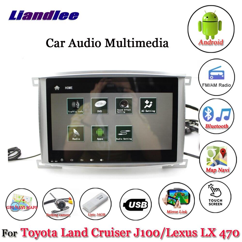 For Toyota Land Cruiser J100 Lexus LX 470 1998~2007-1