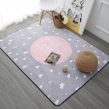 Envío gratis 120×180 cm cartoon niños carpet para bebé gateando mat alfombras para sala de estar sala de niños estera y alfombras