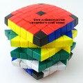 Lanlan 7 x 7 x 7 Cubo mágico quebra-cabeça preto e branco e sete cor cores de aprendizagem e educação brinquedos de presente Cubo mágico