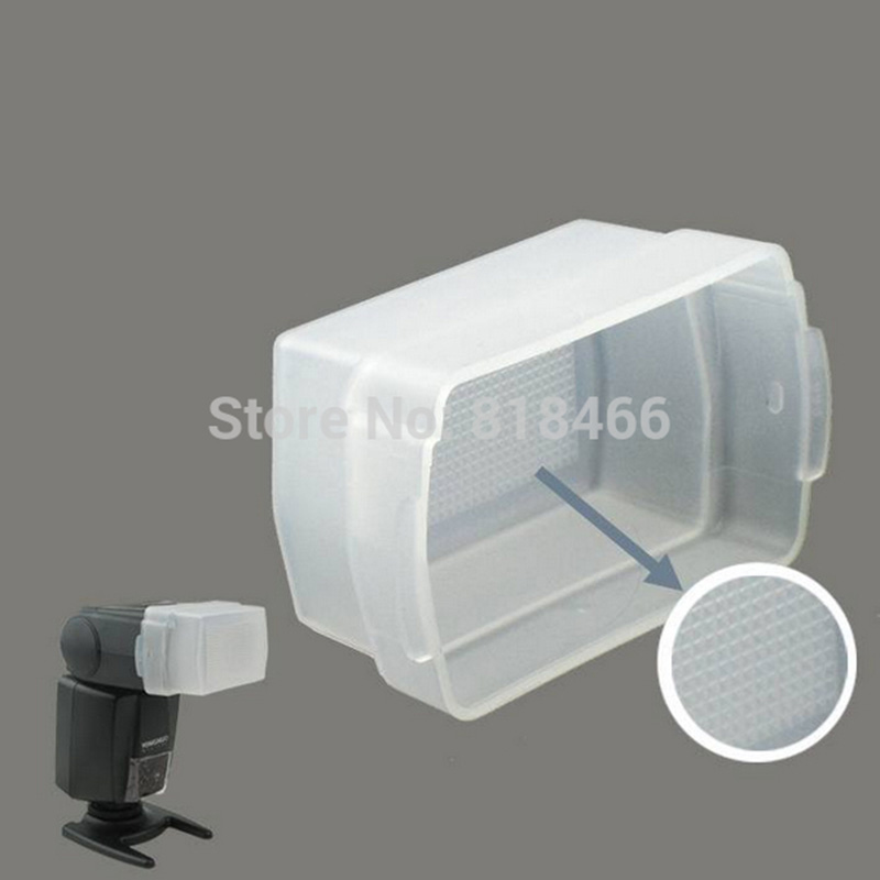 100% NEW! Flash Bounce Diffuser cover for <font><b>Canon</b></font> Speedlite 580EX <font><b>580</b></font> EX II & YONGNUO YN560II YN-565EX YN565 EX yn560iii speedlite image