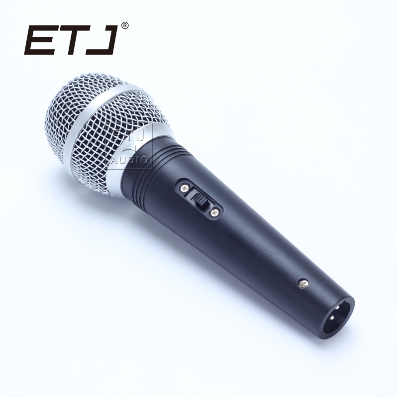 etj brand high quality microphone clear sound handheld wired karaoke microphone a1 in. Black Bedroom Furniture Sets. Home Design Ideas