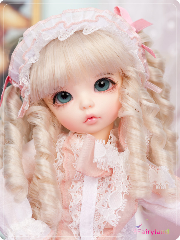 Free makeup&eyes included!TOP quality 1/6 bjd baby doll fairyland LittleFee Ante Luna Bisou sleepy face best gifts art cute free makeup and eyes included sd doll 1 6 27cm bjd doll yotenshi hinata yosd baby doll bjd top quality