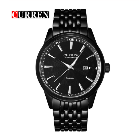 <font><b>CURREN</b></font> <font><b>8052</b></font> Men's Watches Brand Luxury Business Watch Casual Watches Quartz Men's Watch image
