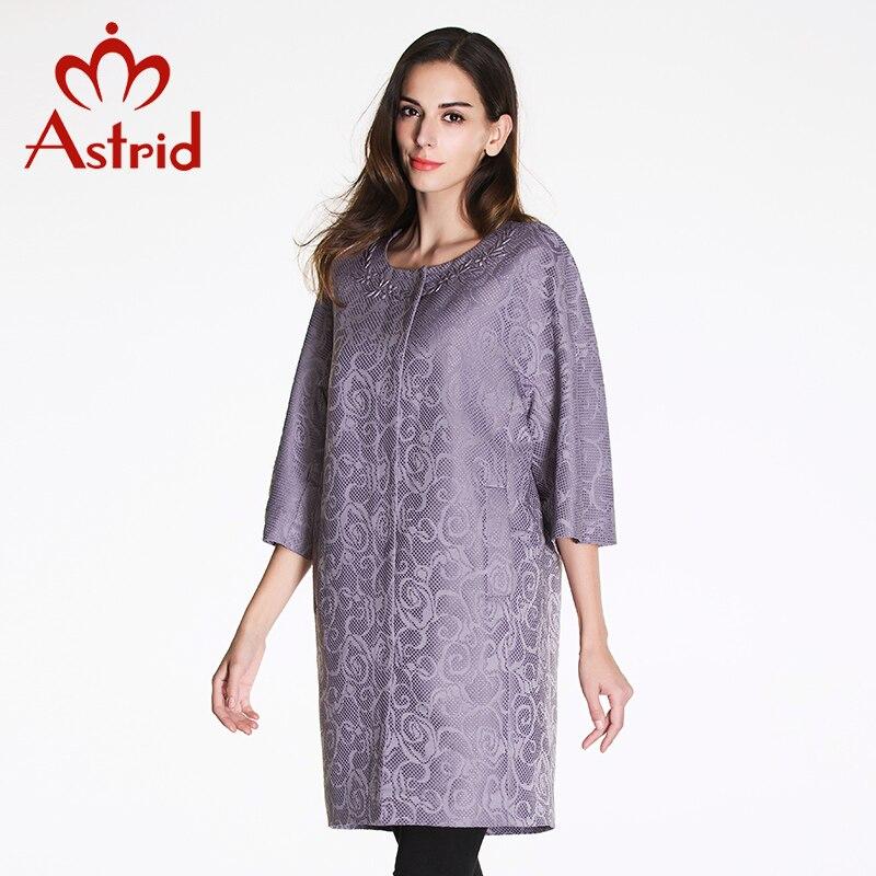 Астрид 2016 новый летний женщин высокое качество мода плащ Большой размер три четверти рукава L XL XXL 3XL 4XL 5XL AS-2185
