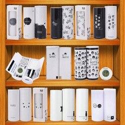 NewmeBox 多機能筆箱大容量ペンケースペンボックスとミラー電卓少年少女のための学校の文房具