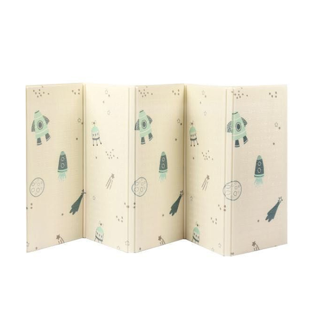 Enfants Jouent Tapis Enfants Tapis Tapis Pliage 150*200*1 cm Mousse Ramper Puzzle Tapis de Jeu Game Pad pour nourrissons Tapis Jouer Matelas
