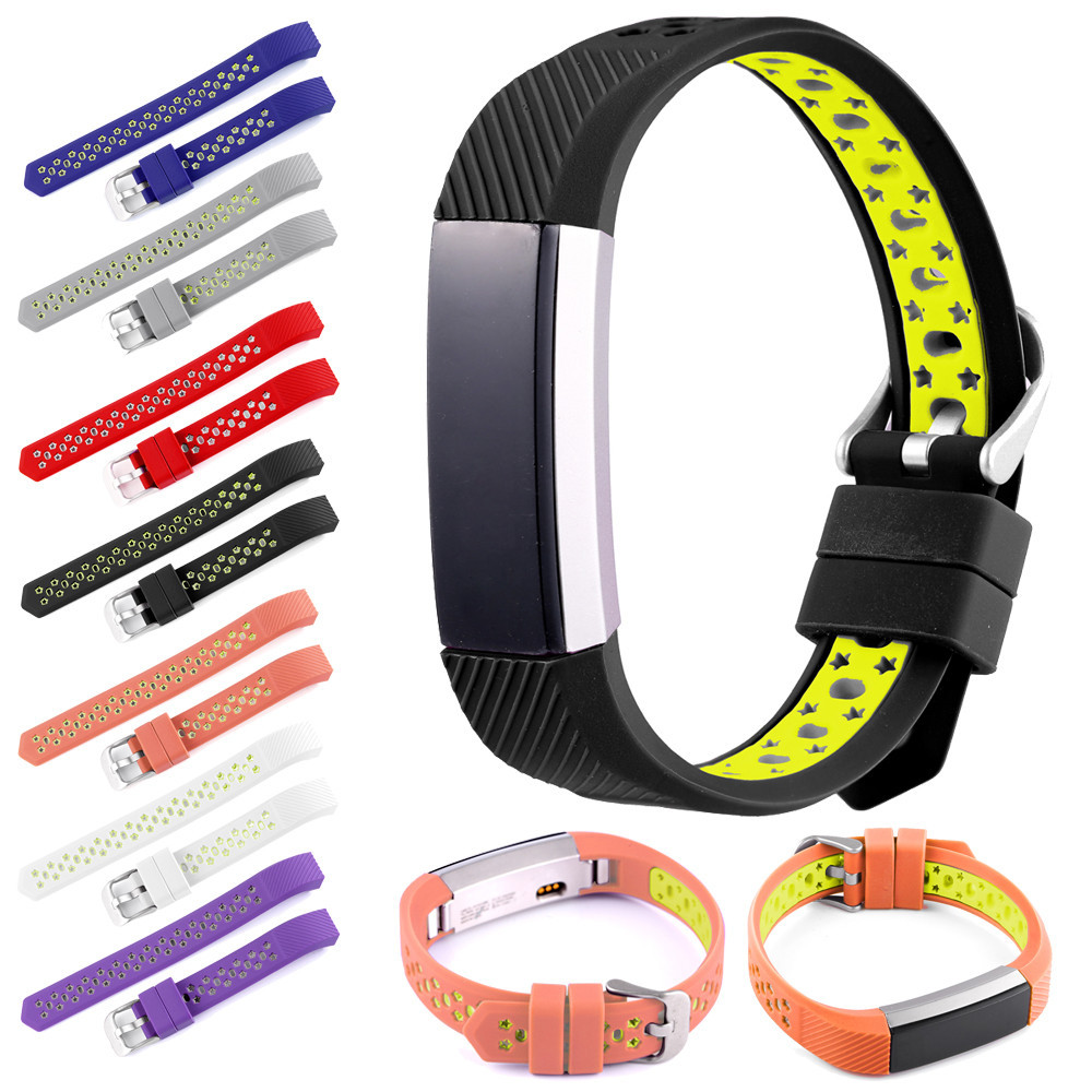 WatchBands New Fashion 2018 Sports 20mm Silicone Bracelet Strap Band For Fitbit Alta HR Watch High Quality accessories javrick silicone wristband bracelet band replacement for garmin vivoactive acetate watch sports watch watchbands accessories