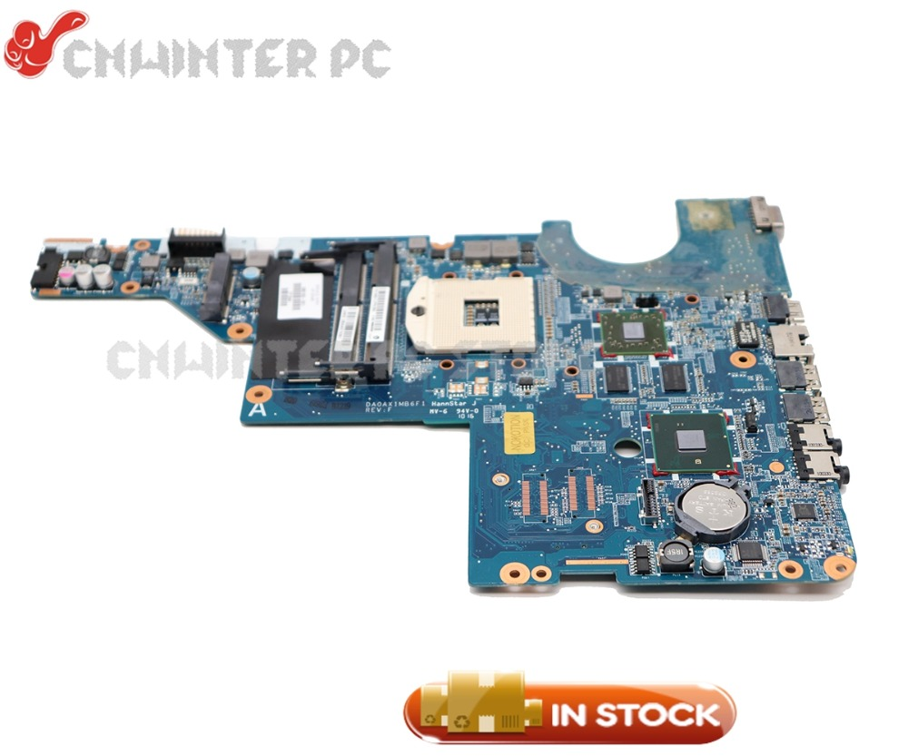 все цены на NOKOTION For HP Pavilion CQ42 G42 CQ62 G62 Laptop Motherboard 615578-001 595183-001 HM55 DDR3 HD5470 GPU Free cpu онлайн