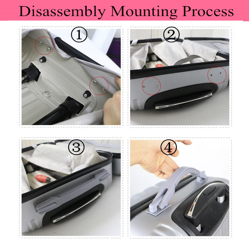 Replacement Luggage Parts Handle,Repair Suitcase Handles,Telescopic Handle Hardware Accessories for suitcases Handle Grip