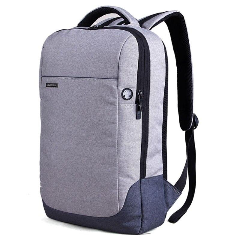 Kingsons 15.6 Laptop Bag Backpack Daily Rucksack Large Capacity Sac Main Mens Baypacks Women Back Pack Bag School Bagpack