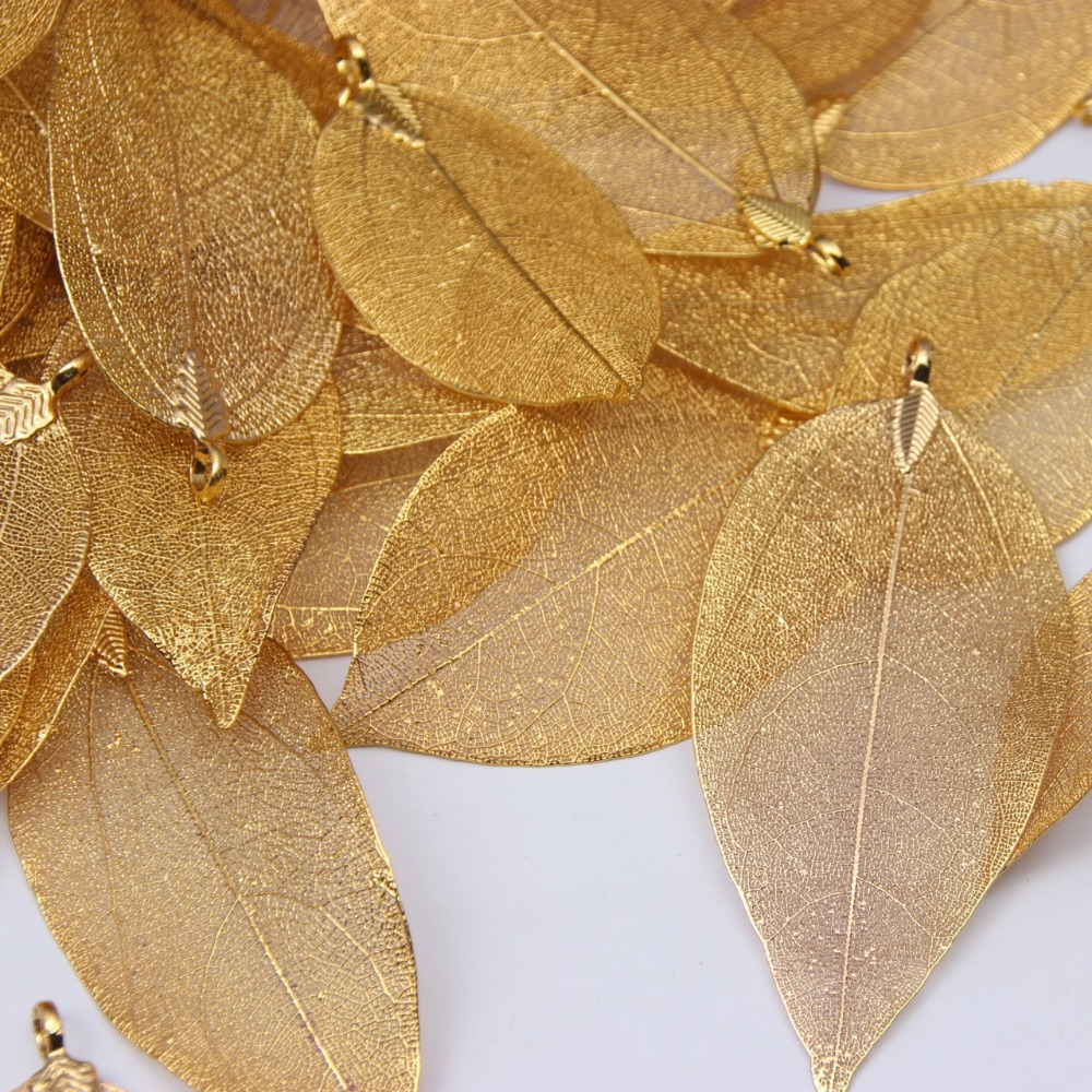 Gift 18k gold plated real nature leaf dipped filigree jewelry gift 18k gold plated real nature leaf dipped filigree jewelry necklace pendant in pendant necklaces from jewelry accessories on aliexpress alibaba aloadofball Choice Image