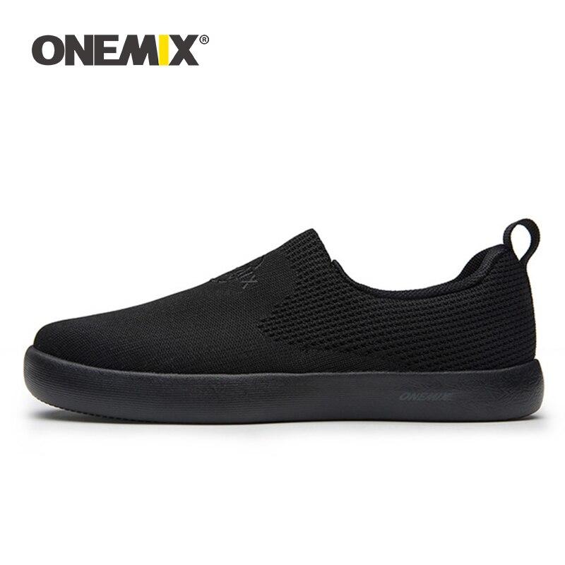 Мужские и женские кроссовки ONEMIX, мягкие, дышащие, легкие, на плоской подошве, вулканизированные|Беговая обувь|   | АлиЭкспресс