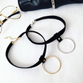 New Fashion Women Jewelry Necklace 2016 Hot Sale Metal Chokers Necklace Simple and Stylish Short Trendy Necklace For Lovers