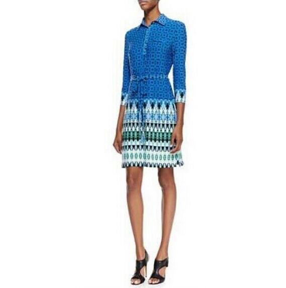 Italian Designer Clothing | Italian Designer Luxury Brands Women S Blue Bohemian Geometric Print