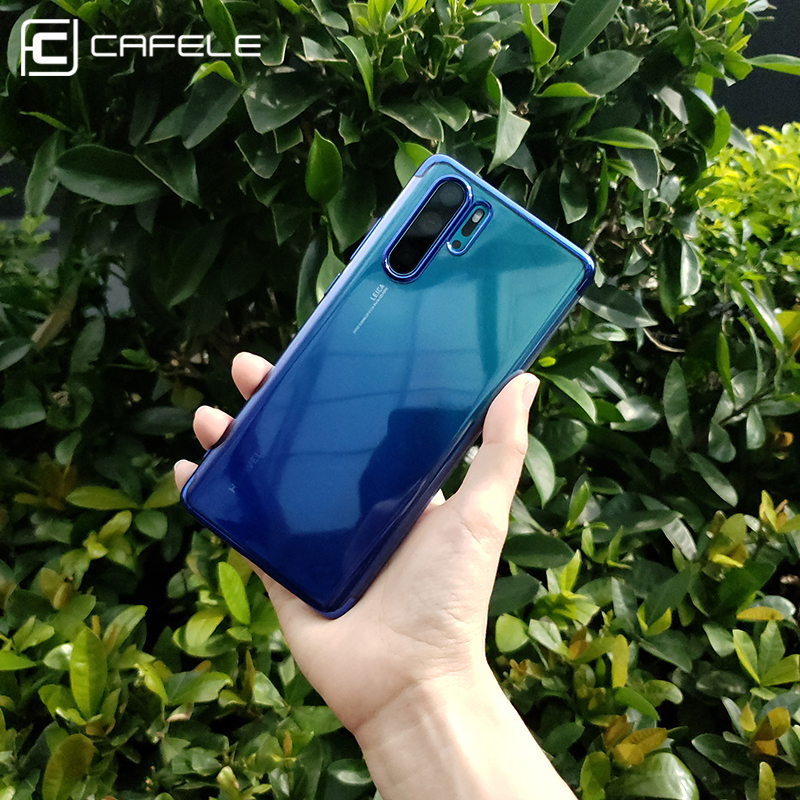 CAFELE Soft Case for Huawei P30 Pro Gradient Aurora Case for Huawei P30 Pro Ultra Thin Smooth Touch Cover in Fitted Cases from Cellphones Telecommunications
