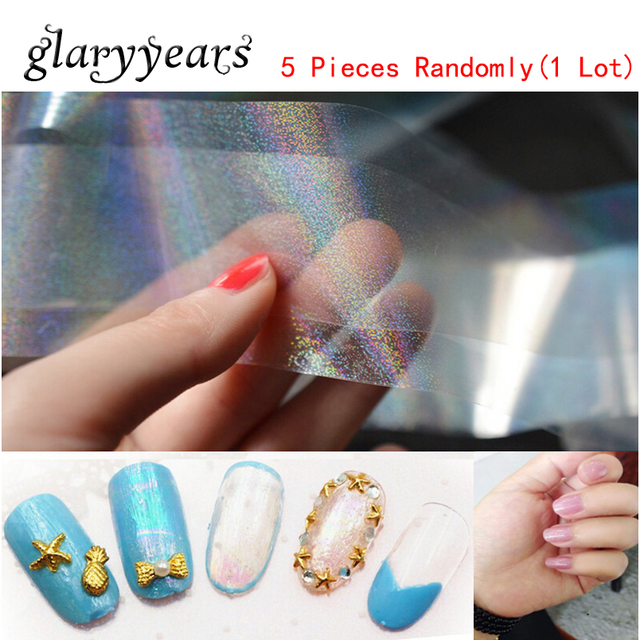 5 pieceslot starry sky holographic foil sticker shiny laser 5 pieceslot starry sky holographic foil sticker shiny laser transparent nail art transfer paper prinsesfo Gallery