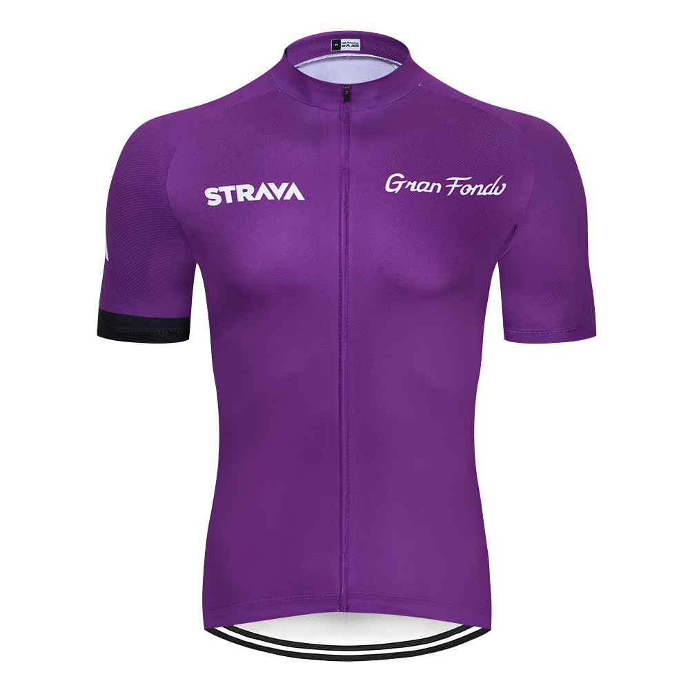 2019 <font><b>STRAVA</b></font> Summer Cycling Jersey Short Sleeve Tops Racing Cycling Clothing Ropa Ciclismo mtb <font><b>Bike</b></font> Jersey <font><b>Shirt</b></font> Maillot Ciclismo image