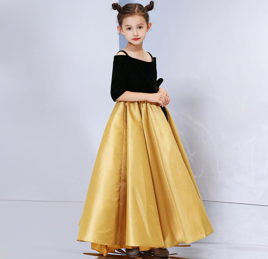 Mode famille correspondant vêtements mère fille robes femmes robe bébé fille Mini robe maman bébé fille fête vêtements HW2382 - 3