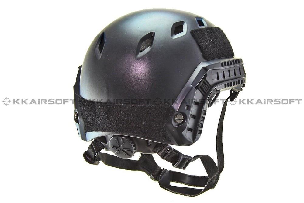 Cycling Helmet Airsoft FAST Base Jump Helmet Black