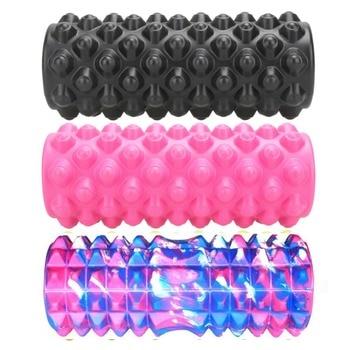 Yoga Block Fitness Equipment Eva Foam Roller Blocks Pilates Fitness Gym Exercises Physio Massage Roller Yoga Block Sport Tool 1