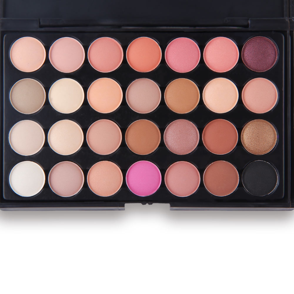 Neutral professional 28 colors ultra shimmer eyeshadow for Top rated neutral paint colors