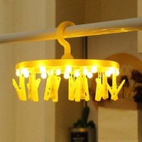 12Led Fairy Yellow 16 Clips Photo Holder Battery Operated String Lights LED Decoration For Christmas Garland